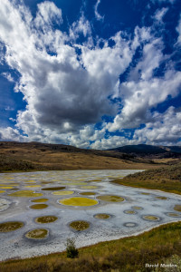 Spotted Lake, by David Maslen